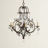 Royall 6-Light Candle Style Chandelier