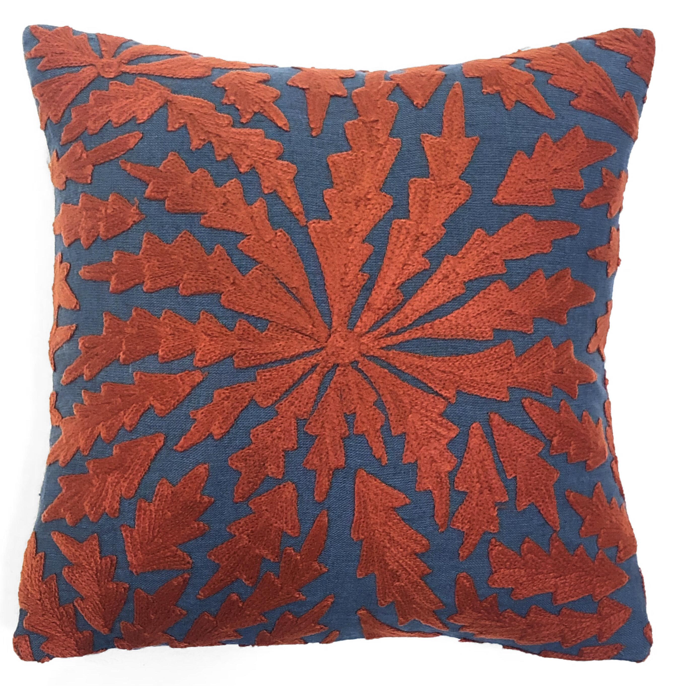 Union Rustic Anya Chrysanthemum Throw Pillow Wayfair