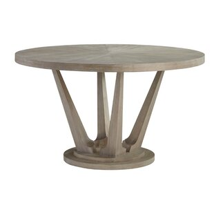 Anadarko Solid Wood Dining Table Ivy Bronx