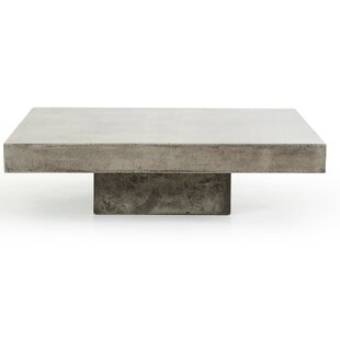 Modern Contemporary Block Coffee Table