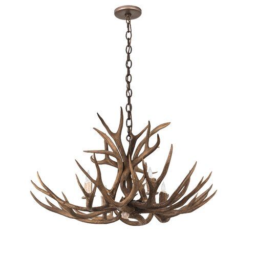 Loon Peak Scruggs 8 Light Candle Style Classic Traditional Chandelier Wayfair