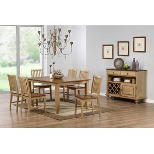 Huerfano Valley 8 Piece Dining Set Loon Peak