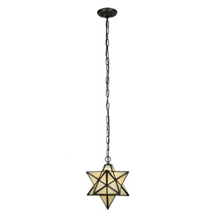 Meyda Tiffany Moravian Star 1-Light Pendant