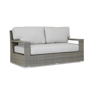Sunset West Hampton Loveseat with Sunbrella Cushions
