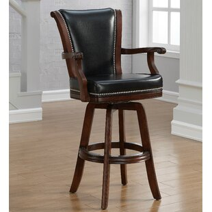 Buckner 32 Swivel Bar Stool DarHome Co