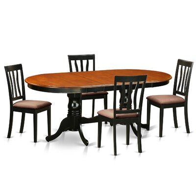 Germantown 5 Piece Extendable Dining Set Darby Home Co
