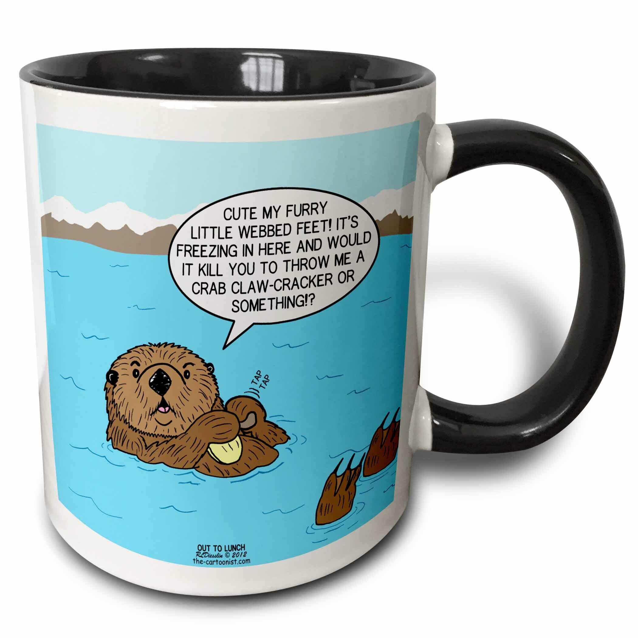 East Urban Home Sea Otter Sour Grapes Coffee Mug Wayfair