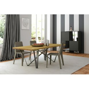 Genoa Dining Table by Modloft Black