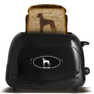 2 Slice Dog Great Dane Toaster