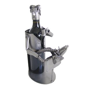 Couch Potato 1 Bottle Tabletop Wine Rack ..