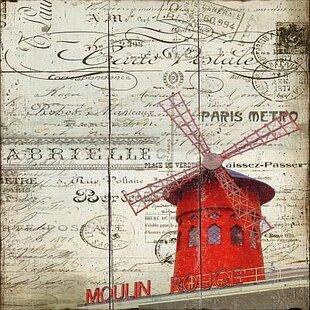 Windmill Wall Art Wayfair