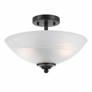 Red Barrel Studio Crofoot 2-Light Semi Flush Mount
