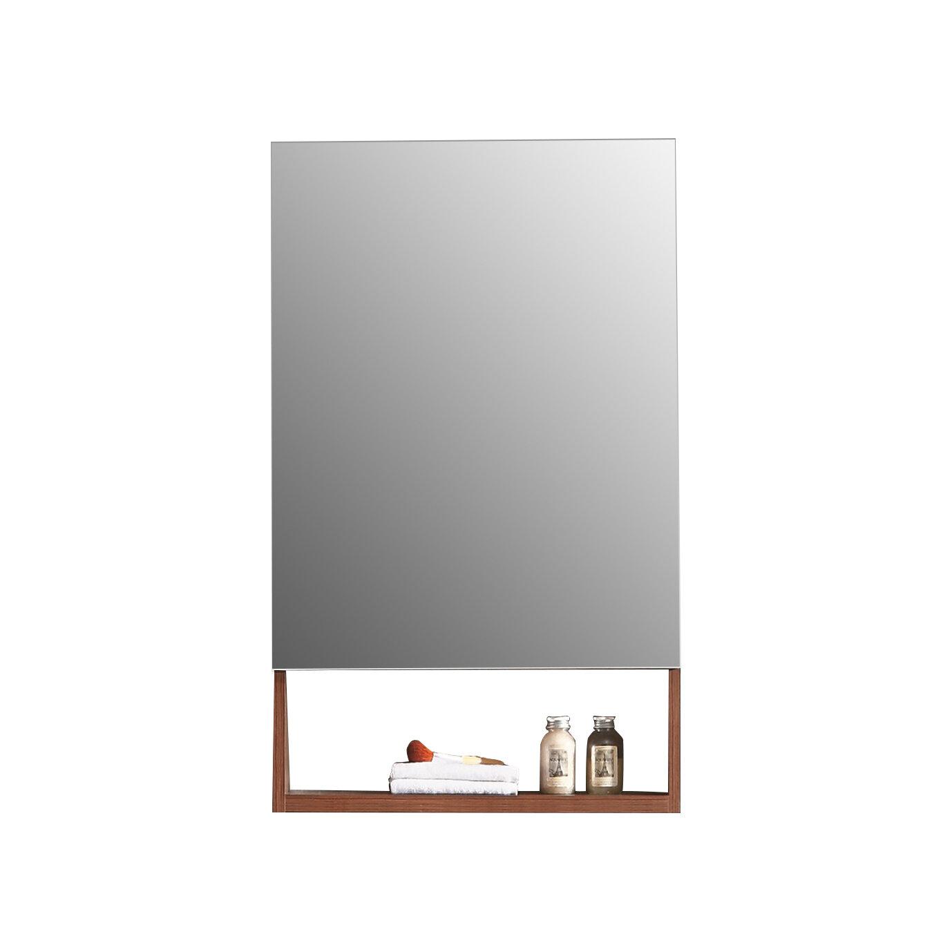 Picture of: Knott 19 63 X 31 5 Surface Mount Frameless Medicine Cabinet Reviews Joss Main