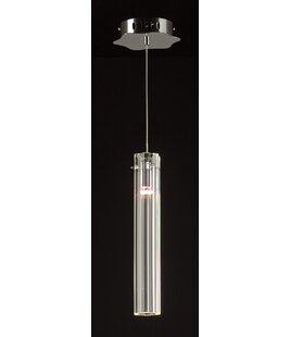 Mills 1-Light Cylinder Pendant by Orren Ellis