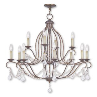 Astoria Grand Bayfront 12-Light Candle Style Chandelier