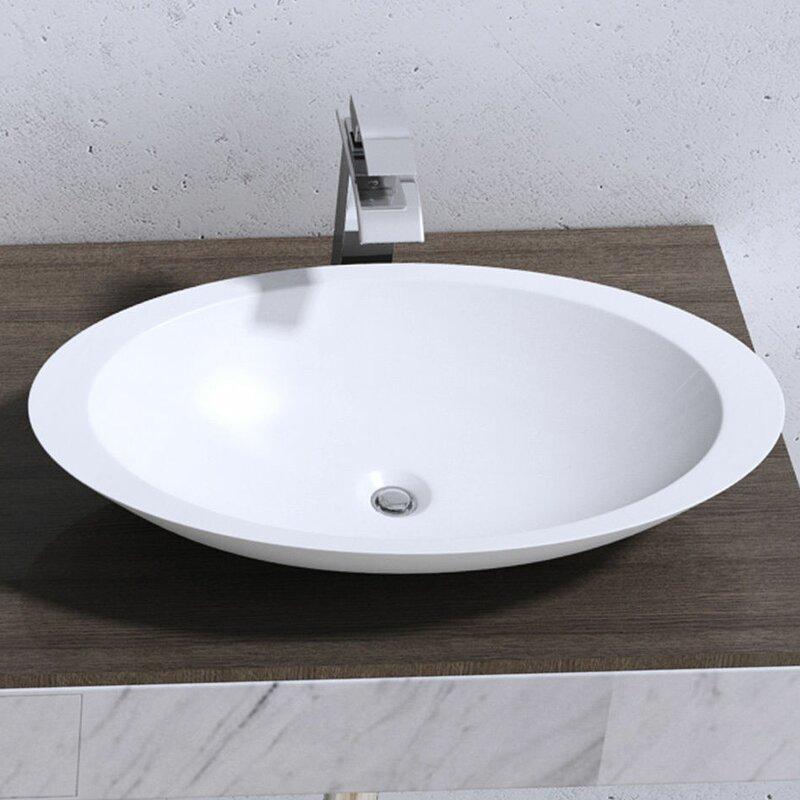 Belfry Bathroom Colossum 35cm Countertop Basin | Wayfair.co.uk
