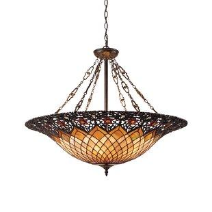 Fleur De Lis Living Almeda 6-Light Bowl Pendant