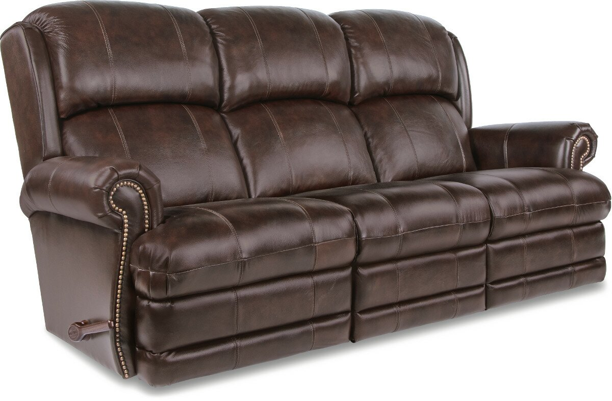 Kirkwood Reclina Way® Full Leather Reclining Sofa