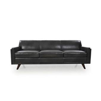 Cabot Leather Sofa & Reviews | AllModern