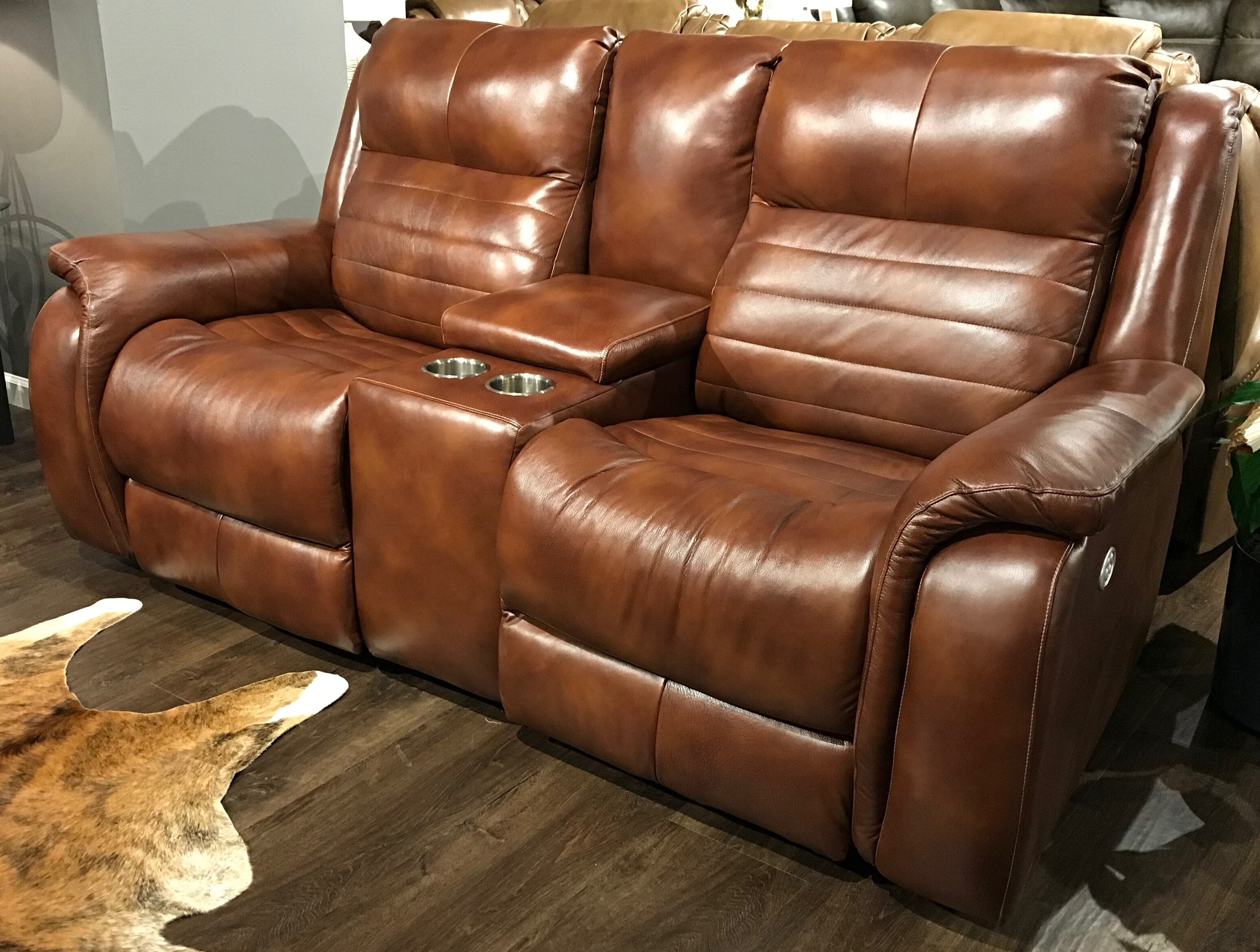 Terrific Essex Leather Reclining Loveseat Pdpeps Interior Chair Design Pdpepsorg