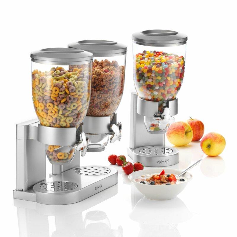 Pureday single 35 l cereal dispenser wayfair single 35 l cereal dispenser ccuart Images