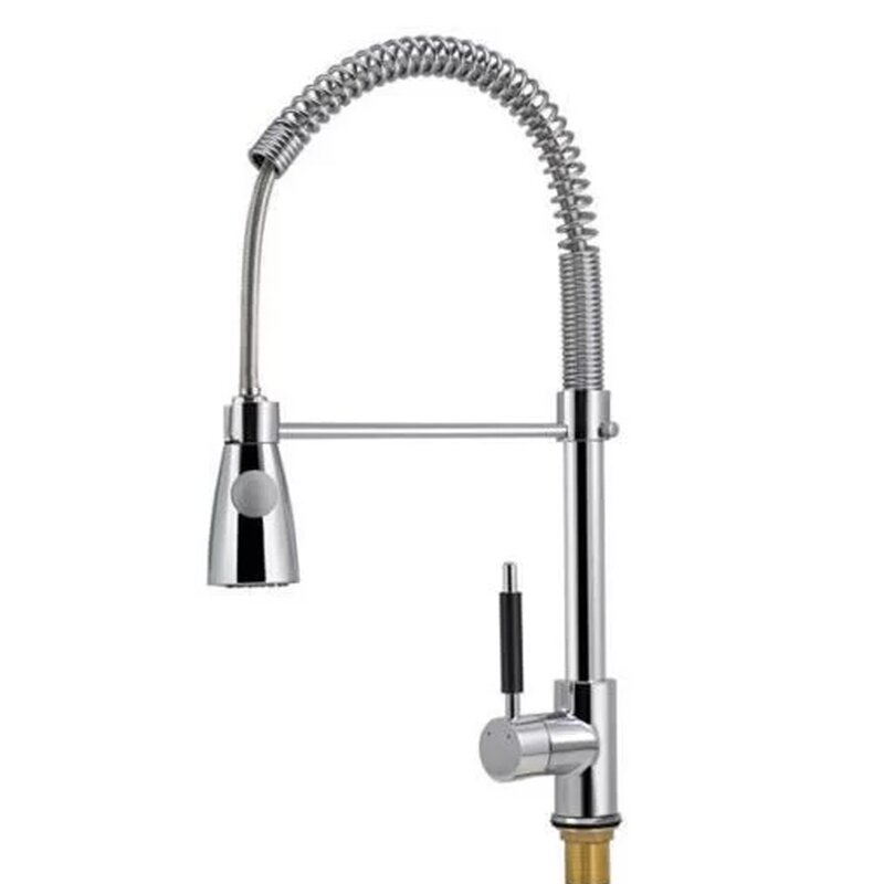 Calhome Pro-Style Pull Down Single Handle Kitchen Faucet & Reviews ...