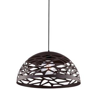 Wogina 1-Light  LED Dome Pendant