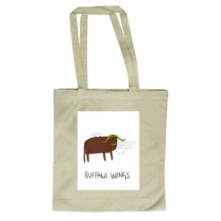 Buffalo Wings Tote Bag By East Urban Home