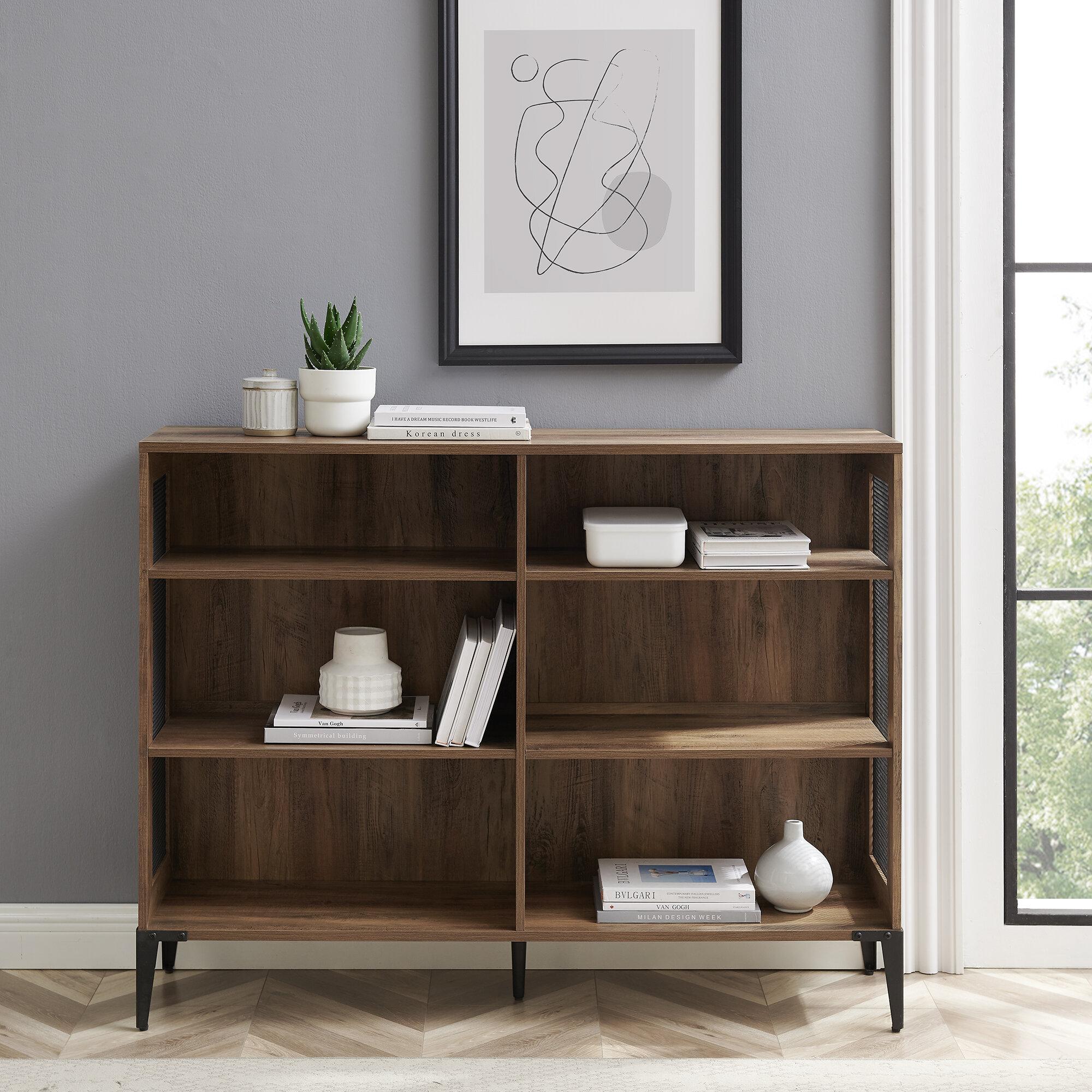 Low & Horizontal Bookcases   Wayfair