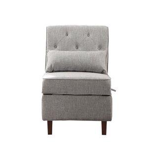 Burkett Storage Side Chair By Winston Porter