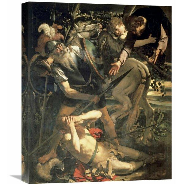 The Conversion of Saint Paul Caravaggio Canvas Art Print