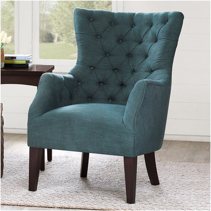 Steelton On Tufted Wingback Chair