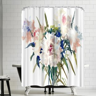 Suren Nersisyan Peonies Single Shower Curtain