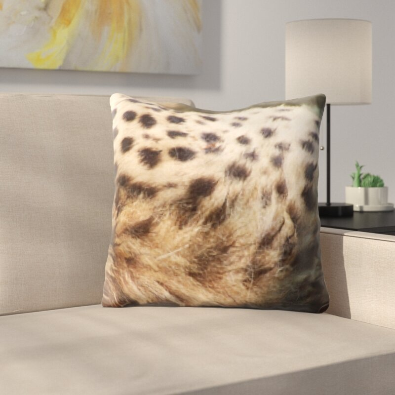 East Urban Home Animal Skin Throw Pillow Wayfair