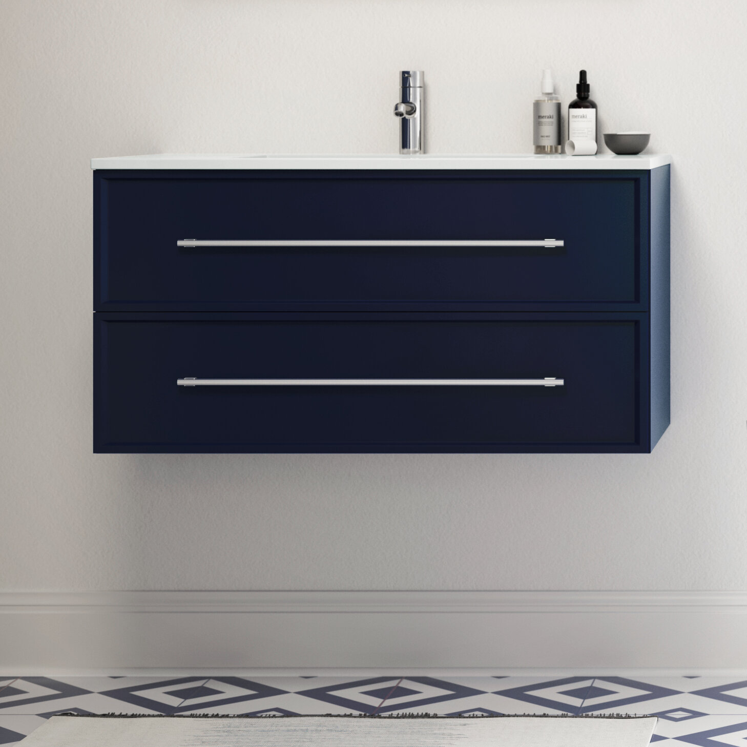 Latitude Run Kage 30 Wall Mounted Single Bathroom Vanity Set Reviews Wayfair