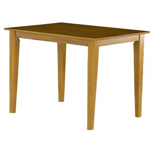 Haven Solid Wood Dining Table Winston Porter