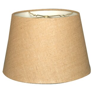 Compare prices Tapered 16 Burlap Empire Lamp Shade By Alcott Hill