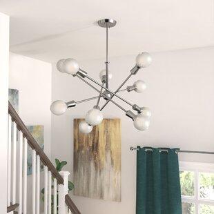Langley Street Lexington 10-Light Sputnik Chandelier