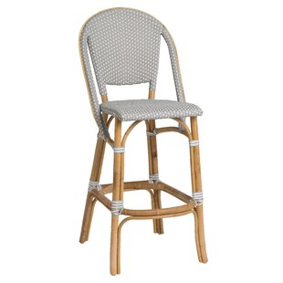 Holder Rattan Bar Stool Bayou Breeze