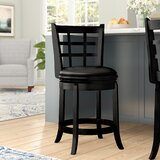 Farmington Bar & Counter Swivel Stool by Darby Home Co
