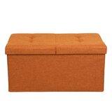 Amazing Peach Storage Ottoman Wayfair Uwap Interior Chair Design Uwaporg