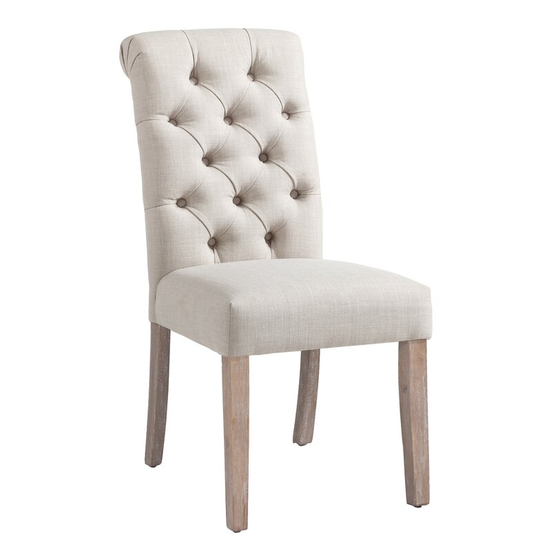accent chairs for dining room clarity photographs | Bathilde Upholstered Dining Chair & Reviews | Joss & Main