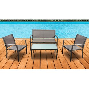 Woodcliff Lake 4 Piece Dining Set by Ostr..