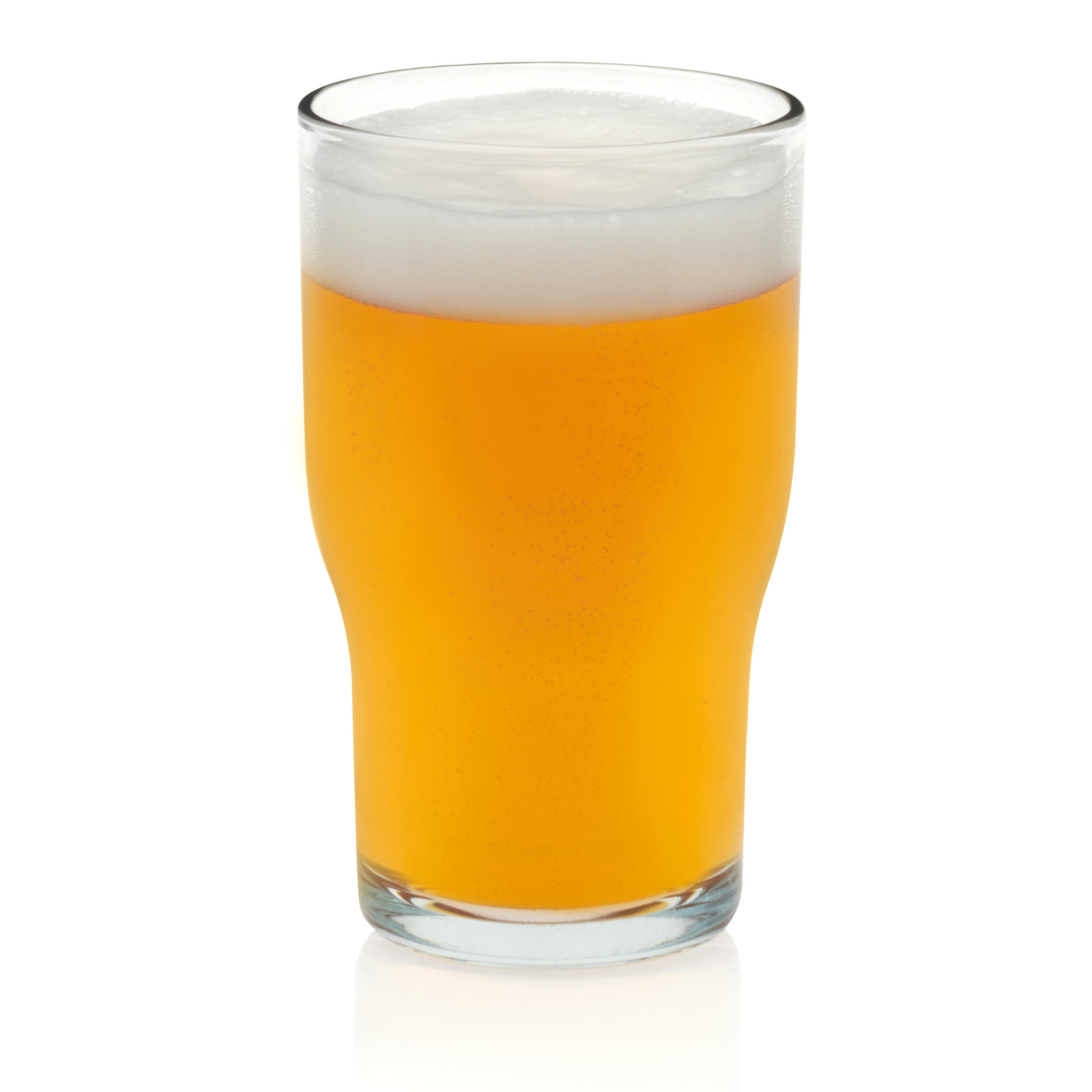 Lager Beer 16 oz  Pint Glass