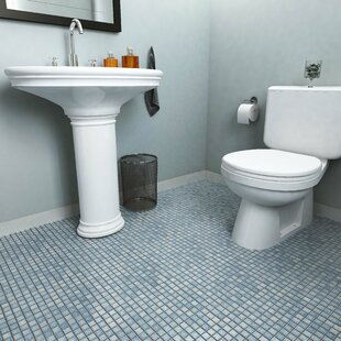 Cobalt Blue Floor Tile | Wayfair