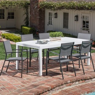 Latitude Run Frampton Cotterell 7 Piece Dining Set