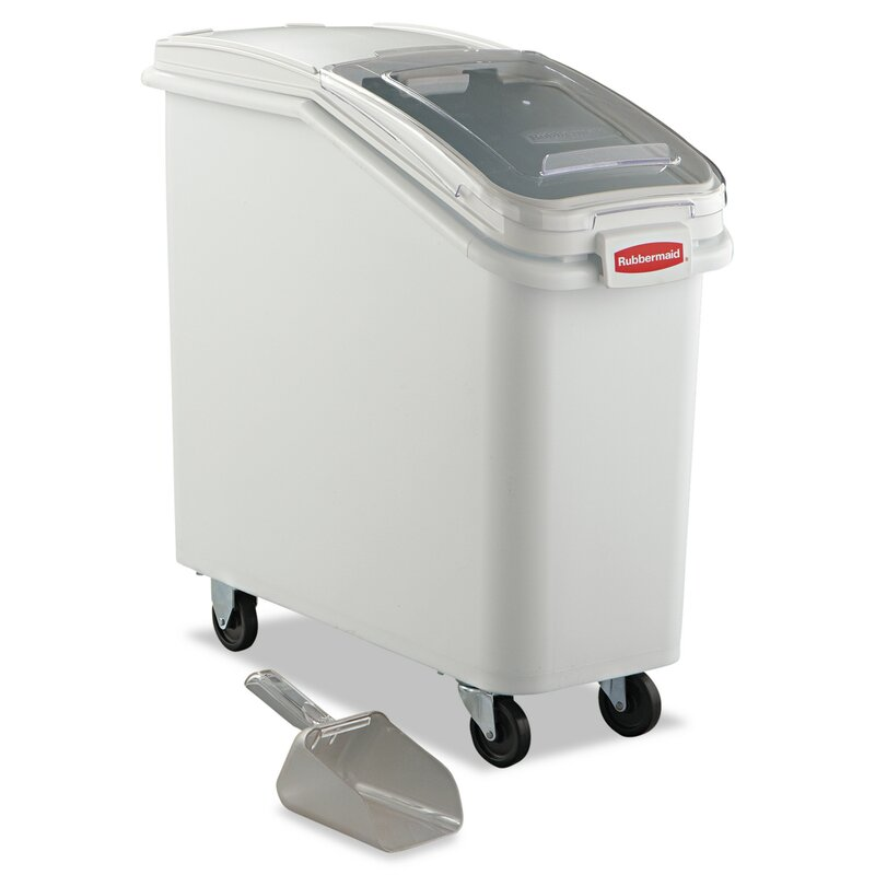 Rubbermaid Commercial Products Single Slant Front Ingredient Bin
