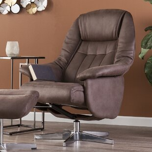 Best Reviews Betty Manual Swivel Recliner with Ottoman by Darby Home Co Reviews (2019) & Buyer's Guide