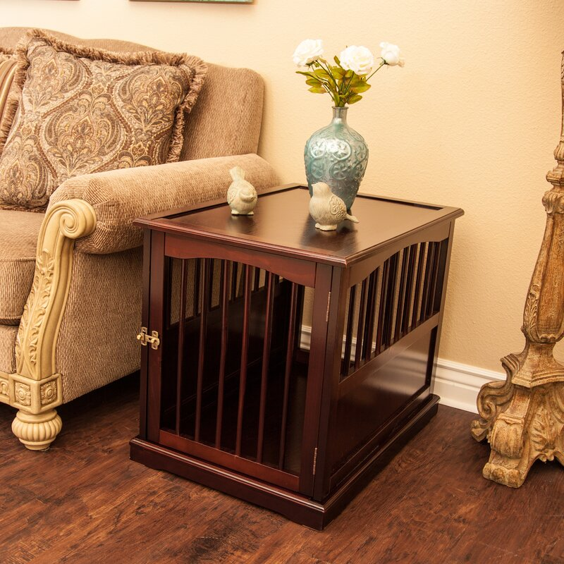 Prime Pet Crate End Table In Walnut Interior Design Ideas Grebswwsoteloinfo