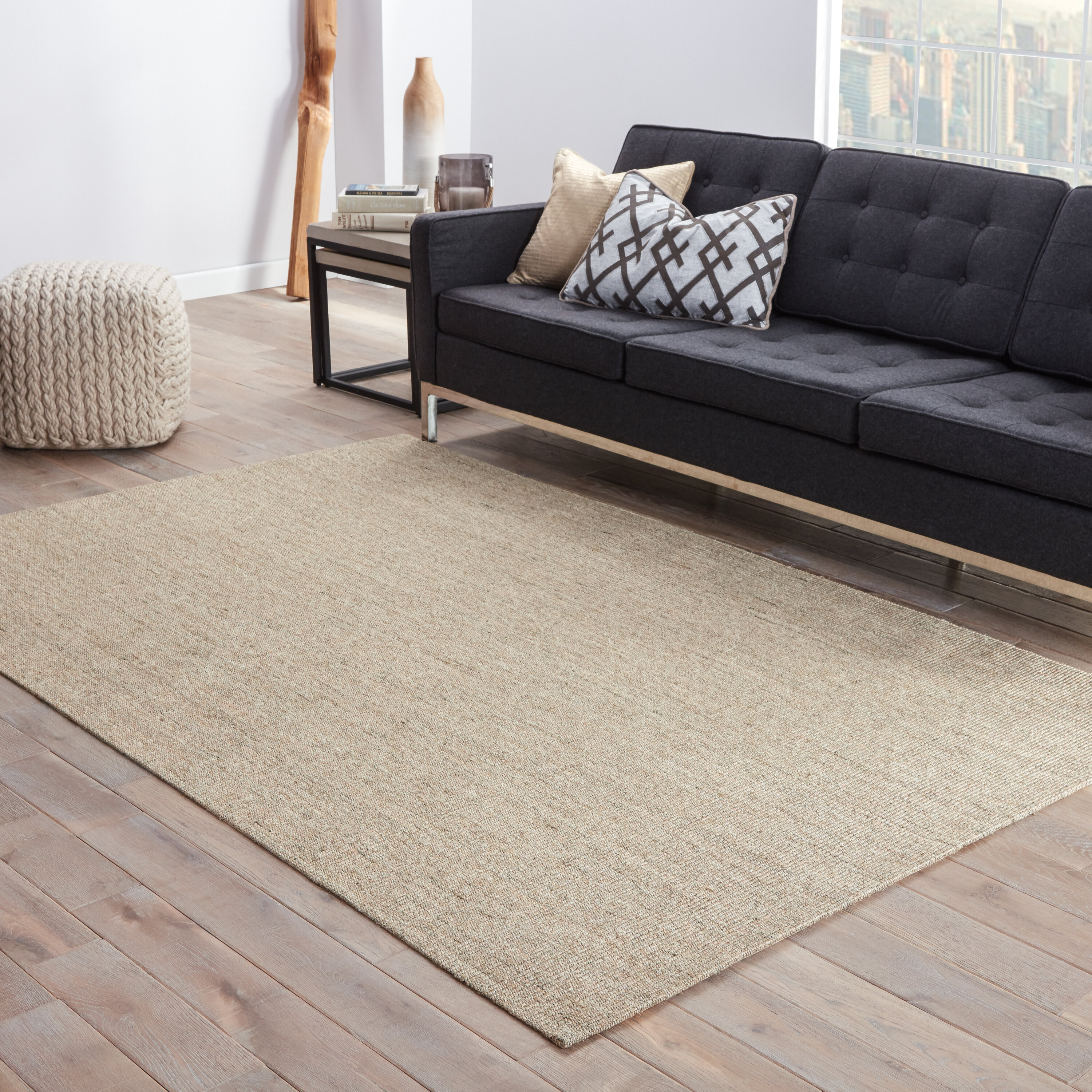 Our Custom Rug Program Lets You Pick The Color Combo Of Your Bordered Round Jute So That It S Just Right For E Made To Order